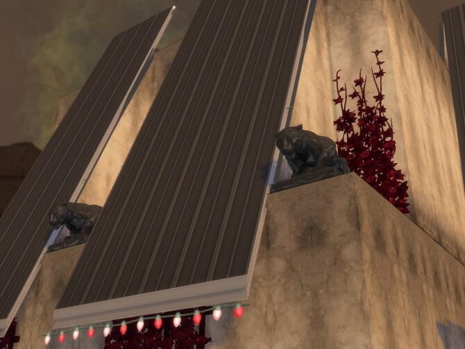 Sims 4 Italian Column, Dragon & Panther at Anna Quinn Stories