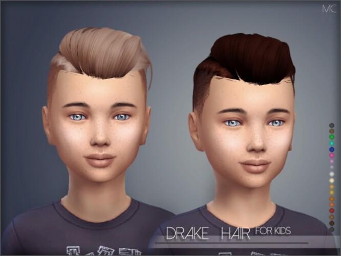 Drake Hair Kids by Mathcope