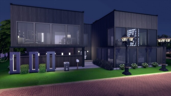 Sims 4 NAMEI HOUSE at Nilyn Sims 4
