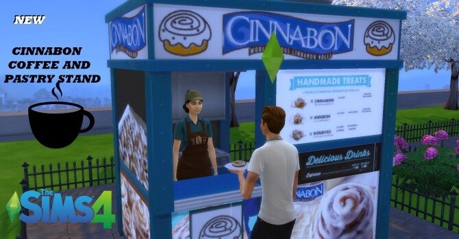 Cinnabon coffee and pastry stand by ArLi1211
