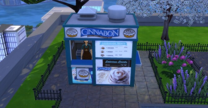 Cinnabon coffee and pastry stand by ArLi1211 at Mod The Sims image 2182 670x349 Sims 4 Updates