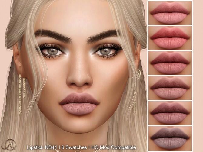Lipstick NB41 at MSQ Sims image 2186 670x503 Sims 4 Updates