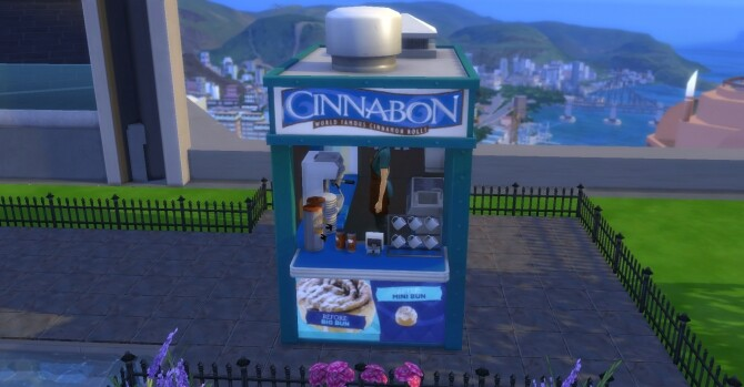 Cinnabon coffee and pastry stand by ArLi1211 at Mod The Sims image 2202 670x349 Sims 4 Updates