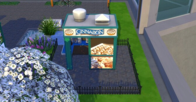 Cinnabon coffee and pastry stand by ArLi1211 at Mod The Sims image 2217 670x349 Sims 4 Updates