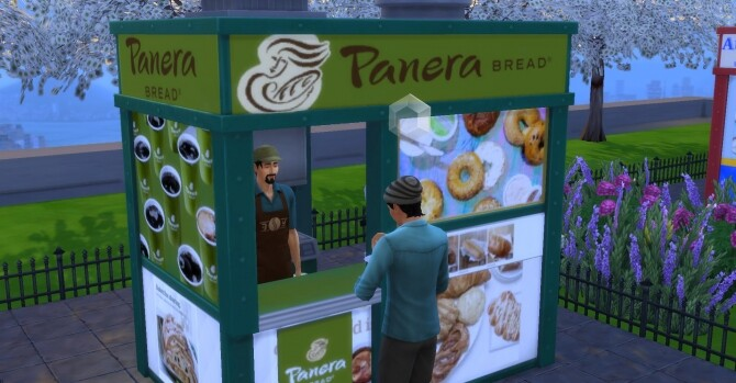 Panera Bread coffee and pastry stand by ArLi1211
