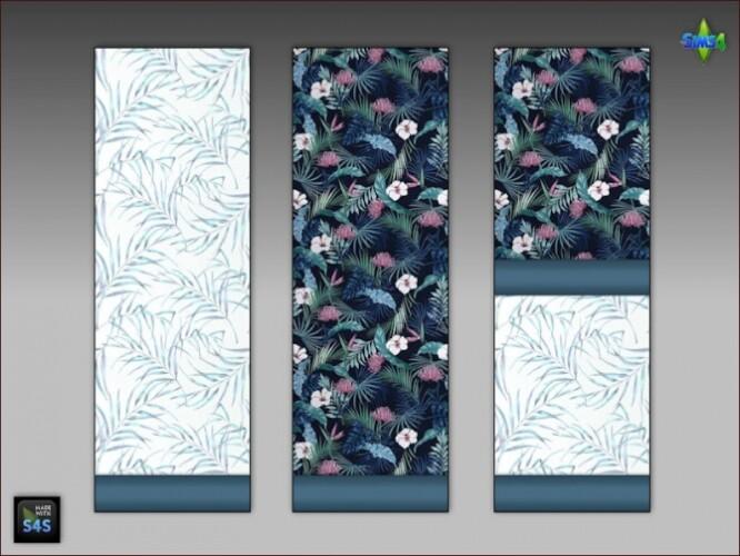 6 wallpaper sets for living room or bedroom