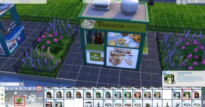 Panera Bread coffee and pastry stand by ArLi1211 at Mod The Sims image 2242 670x349 Sims 4 Updates