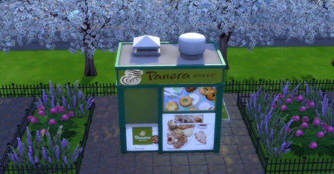 Panera Bread coffee and pastry stand by ArLi1211 at Mod The Sims image 2252 670x349 Sims 4 Updates