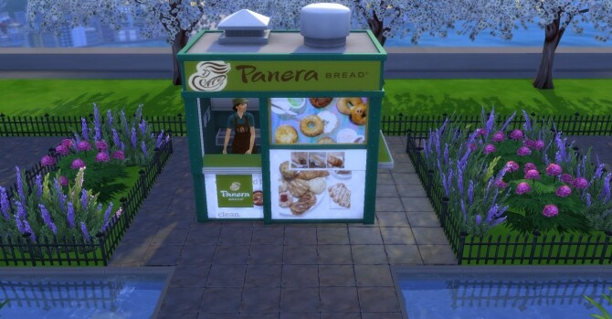 Panera Bread coffee and pastry stand by ArLi1211 at Mod The Sims image 2262 670x349 Sims 4 Updates