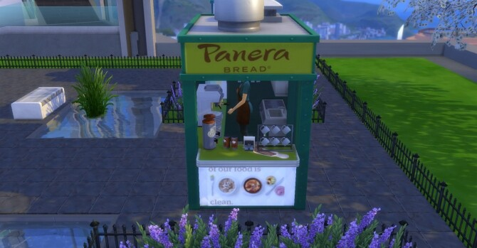 Panera Bread coffee and pastry stand by ArLi1211 at Mod The Sims image 2272 670x349 Sims 4 Updates