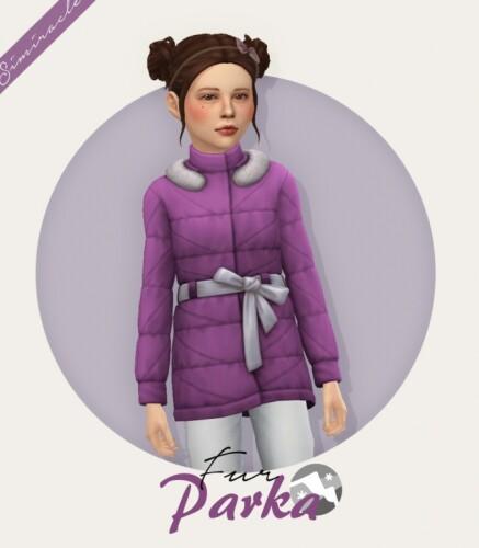 Fur Parka Kids Version