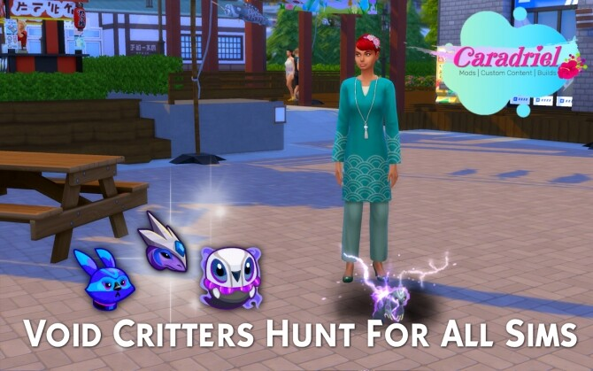 Void Critters Hunt For All Sims by Caradriel