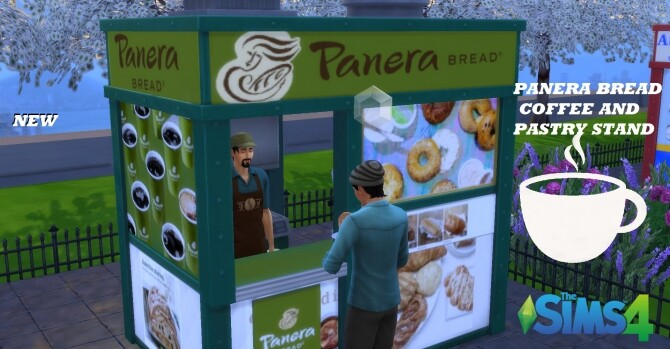 Panera Bread coffee and pastry stand by ArLi1211 at Mod The Sims image 2292 670x349 Sims 4 Updates
