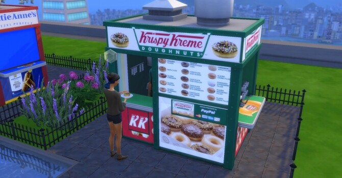 Krispy Kreme coffee and pastry stand by ArLi1211 at Mod The Sims image 2317 670x349 Sims 4 Updates