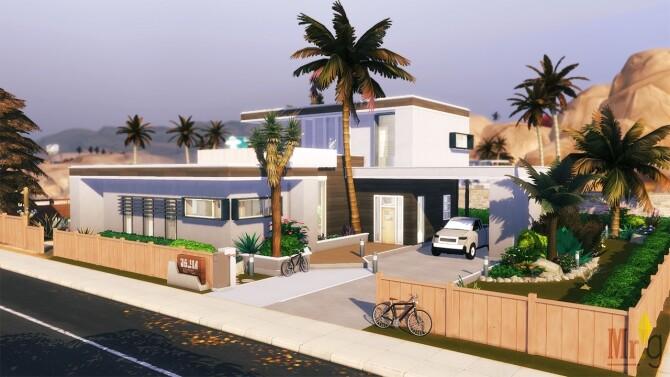 Sims 4 ALMA Bauhaus Modern Home at Mister Glucose