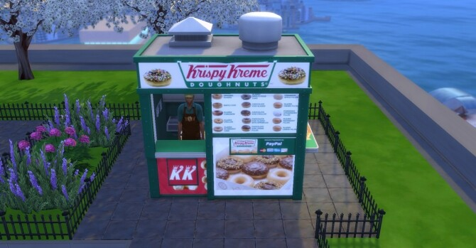 Krispy Kreme coffee and pastry stand by ArLi1211 at Mod The Sims image 2331 670x349 Sims 4 Updates
