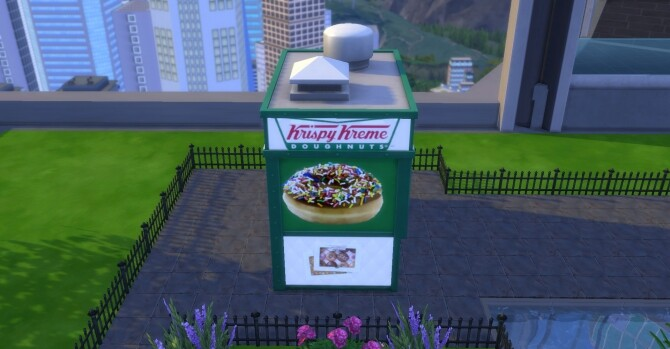 Krispy Kreme coffee and pastry stand by ArLi1211 at Mod The Sims image 2342 670x349 Sims 4 Updates