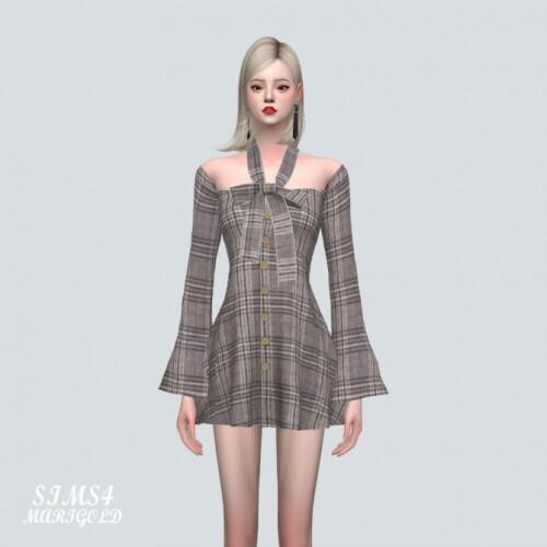 Ribbon Mini Dress_SSS