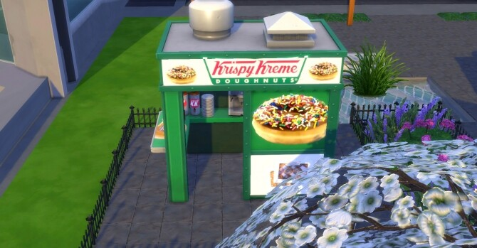 Krispy Kreme coffee and pastry stand by ArLi1211 at Mod The Sims image 2352 670x349 Sims 4 Updates