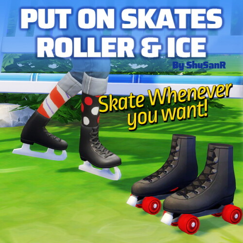 Functional Roller Ice Skating Shoes by ShuSanR