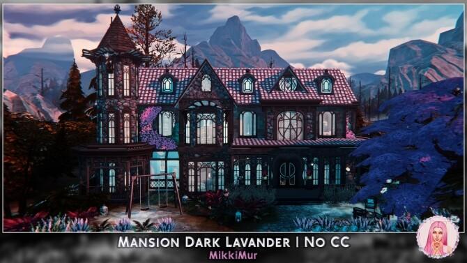 Mansion Dark Lavander