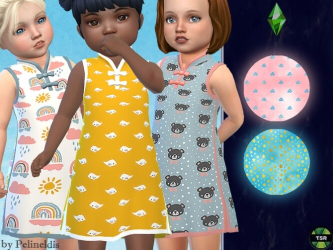 Toddler Silk Nightdress by Pelineldis
