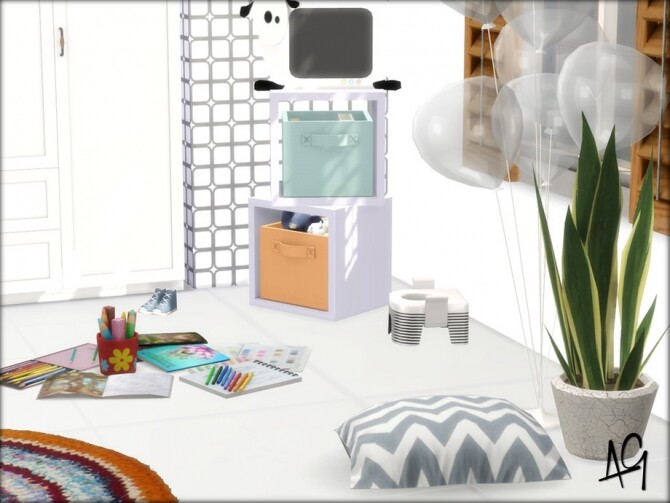 Sims 4 Little Grants Room by ALGbuilds at TSR