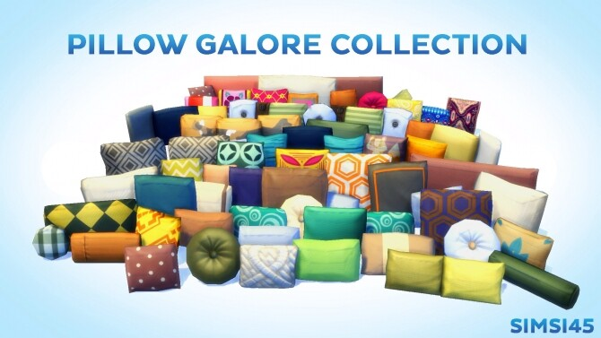 Pillow Galore Collection by simsi45
