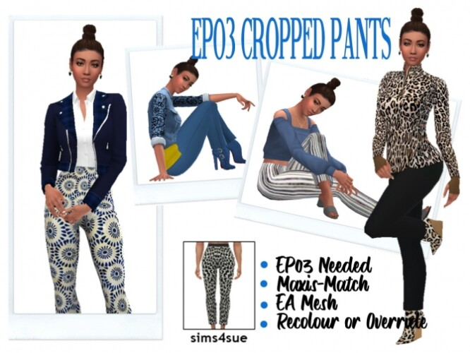 EP03 CROPPED PANTS
