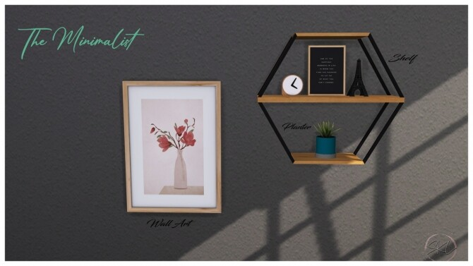 Sims 4 The Minimalist Collection at Sunkissedlilacs