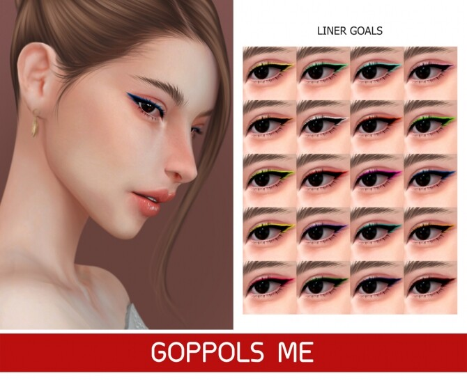 Sims 4 GPME GOLD LINER GOALS at GOPPOLS Me
