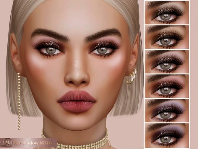 Sims 4 Eyeshadow NB16 at MSQ Sims