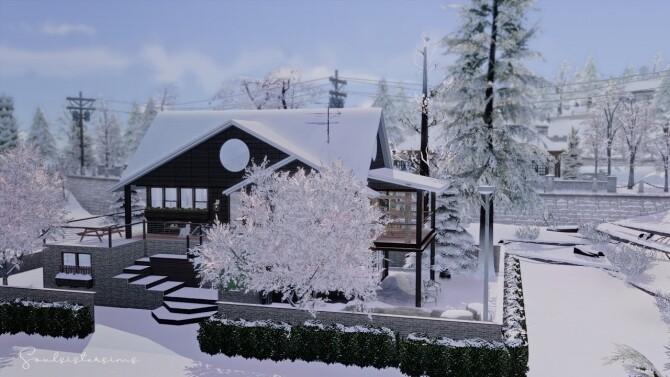 Sims 4 Snowball home at SoulSisterSims