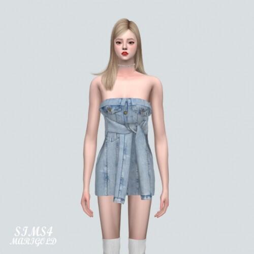 YY Denim Mini Dress
