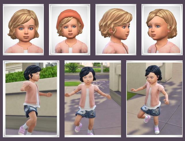 Sims 4 Sam Toddler Hair at Birksches Sims Blog