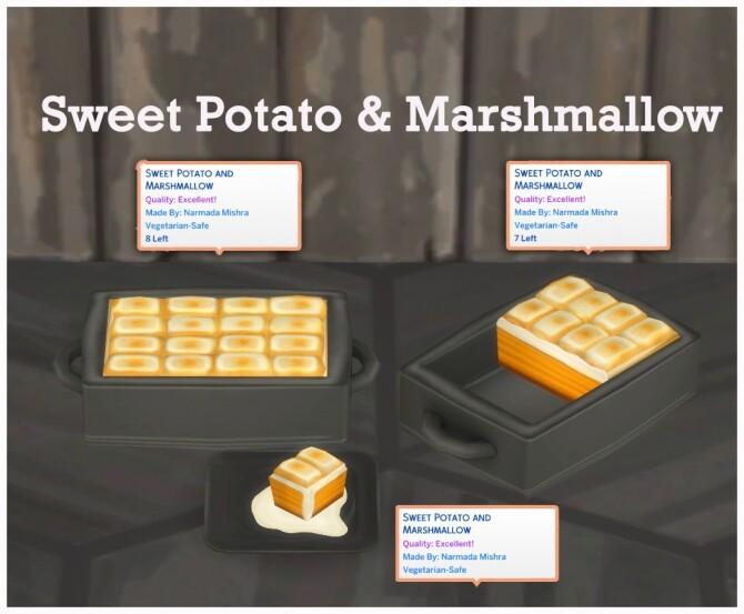 SWEET POTATO AND MARSHMALLOW CASSEROLE at Icemunmun image 2555 670x553 Sims 4 Updates