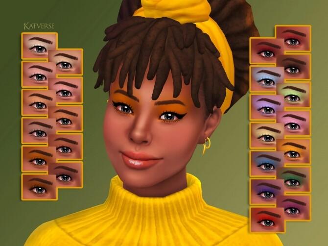 Sims 4 Rina Eyeshadow at Katverse