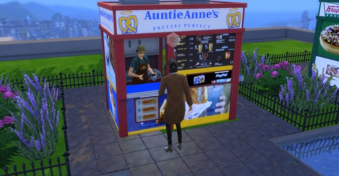 Auntie Annes coffee and pastry stand by ArLi1211