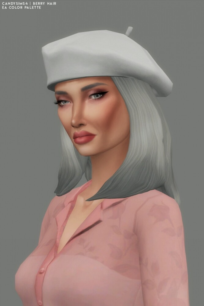 BERRY HAIR   half pony with a braid at Candy Sims 4 image 2573 667x1000 Sims 4 Updates