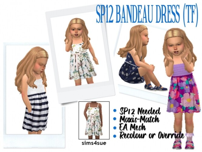 BG BANDEAU DRESS