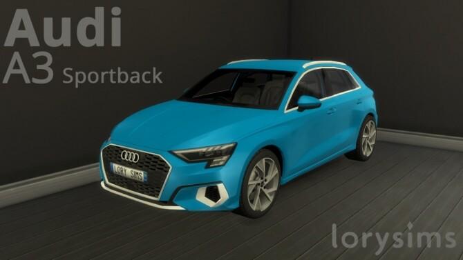 Audi A3 Sportback at LorySims image 2583 670x377 Sims 4 Updates