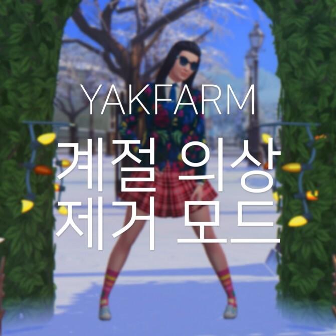 Sims 4 No Weather Outfit Change Mod at Yakfarm
