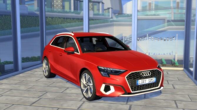 Audi A3 Sportback at LorySims image 2593 670x377 Sims 4 Updates