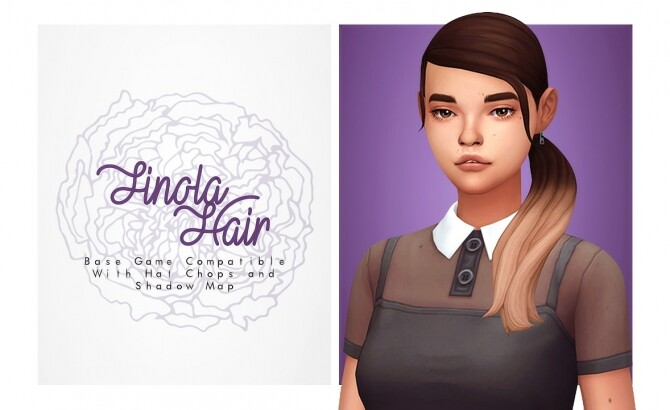 Sims 4 Finola Hair at Isjao