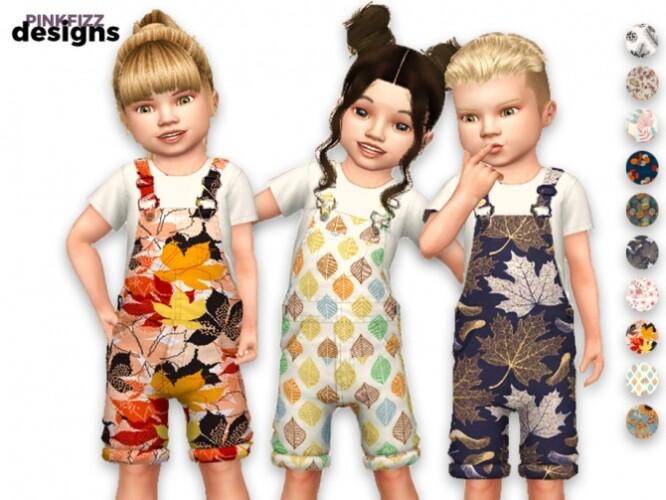 Little Junior Autumn Overalls by Pinkfizzzzz