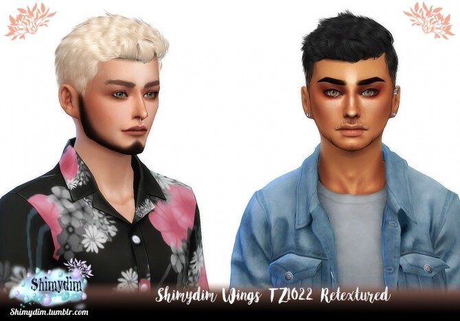 Wings TZ1022 Hair Retexture Naturals Unnaturals