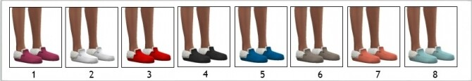 Sims 4 EF13 SLIPPERS at Sims4Sue