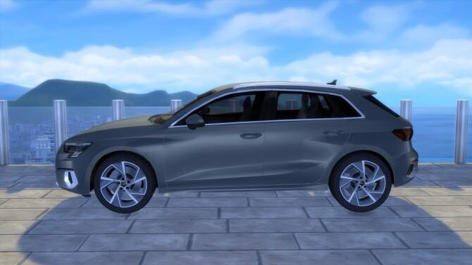 Audi A3 Sportback at LorySims image 2633 670x377 Sims 4 Updates