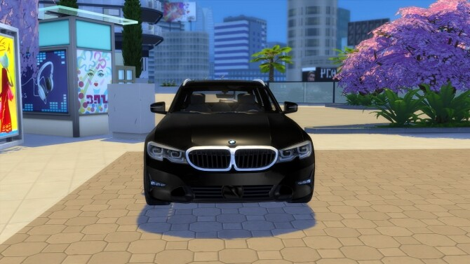 BMW 3 Series Touring at LorySims image 2634 670x377 Sims 4 Updates