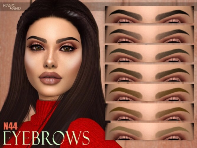 Eyebrows N44 by MagicHand